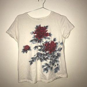 floral t shirt